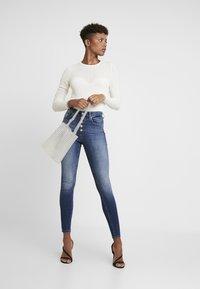 ONLY - Jeans Skinny Fit - dark-blue denim - 1