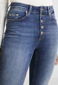 ONLY - Jeans Skinny Fit - dark-blue denim - 3