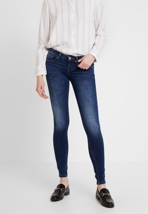 ONLFCORAL LIFE - Jeans Skinny - dark blue denim