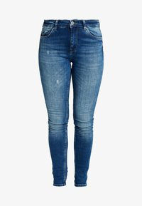 ONLY - ONLCARMEN - Jeans Skinny Fit - dark blue denim - 4
