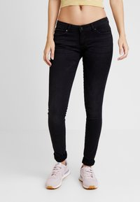 ONLY - ONLFCORAL - Jeans Skinny Fit - black denim - 0