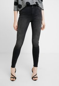 ONLY - ONLGOSH - Jeans Skinny Fit - black denim - 0