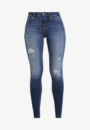 ONLZALA - Jeans Skinny Fit - dark blue denim