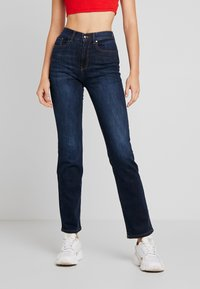 ONLY - ONLFNAHLA - Jeans slim fit - dark blue denim - 0