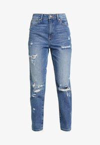 ONLY - ONLFFAYE LIFE - Jeans a sigaretta - medium blue denim - 4