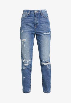 ONLFFAYE LIFE - Jeans straight leg - medium blue denim