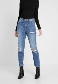 ONLY - ONLFFAYE LIFE - Jeans a sigaretta - medium blue denim - 0
