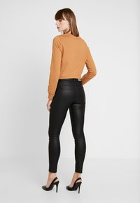 ONLY - ONLFHUSH MID ANK - Jeans Skinny Fit - black - 2