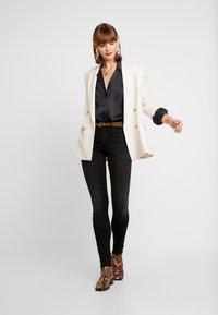 ONLY - ONLSHAPE - Jeans Skinny Fit - black denim - 1