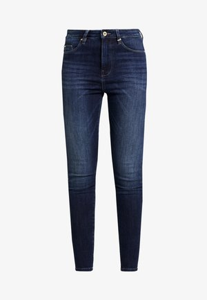 ONLGOSH HIGHWAIST - Jeans Skinny - dark blue denim