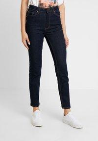 ONLY - ONLSIENNA - Jeans Skinny Fit - dark blue denim - 0