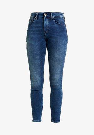 ONLHUSH MID - Jeans Skinny Fit - dark blue denim