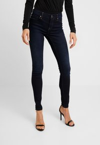 ONLY - ONLCARMEN - Skinny-Farkut - dark blue denim - 0
