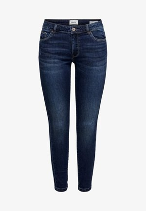 ONLCARMEN - Vaqueros pitillo - dark blue denim
