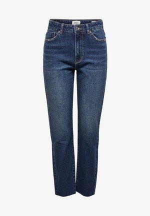 ONLEMILY  - Straight leg jeans - dark-blue denim