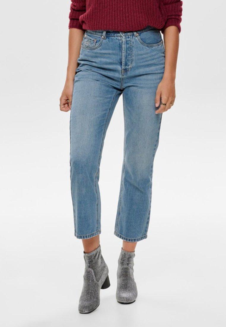 ONLY - ONLHALEY - Straight leg jeans - light blue denim