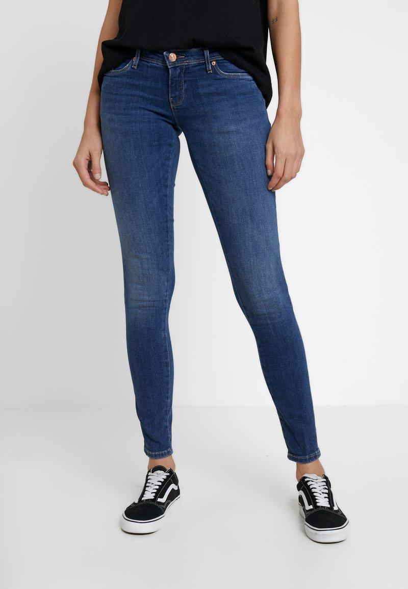 ONLY - ONLCORAL - Jeans Skinny - dark blue denim