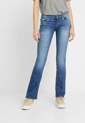 ONLCORAL SWEET - Jeansy Skinny Fit - dark blue denim
