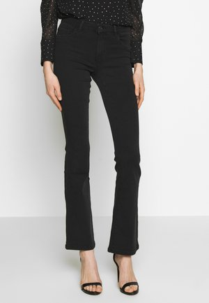 ONLHELLA REG SWEET - Jeans bootcut - black