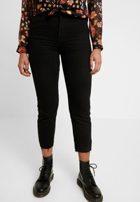 ONLY - ONLEMILY - Jeans a sigaretta - black - 0