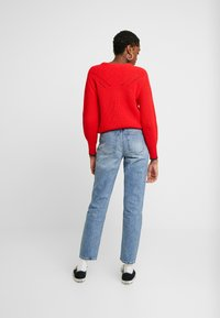 ONLY - ONLEMILY ANKLE - Straight leg jeans - medium blue denim - 2