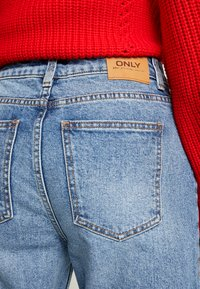 ONLY - ONLEMILY ANKLE - Straight leg jeans - medium blue denim - 5