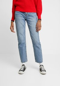 ONLY - ONLEMILY ANKLE - Straight leg jeans - medium blue denim - 0
