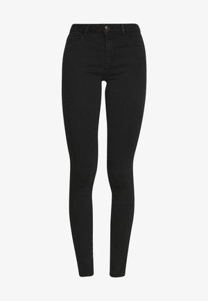 ONLHELLA - Jeansy Skinny Fit - black