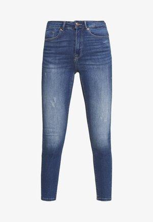 ONLFPAOLA DESTROY - Jeans Skinny Fit - medium blue denim