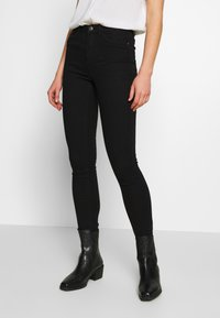 ONLY - ONLPAIGE PUSH UP  - Jeans Skinny Fit - black - 0