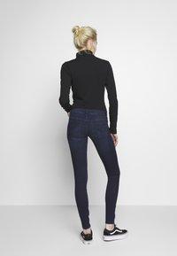 ONLY - ONLCORAL LIFE - Jeans Skinny Fit - dark blue denim - 2