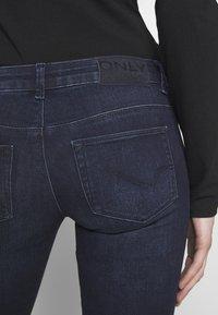 ONLY - ONLCORAL LIFE - Jeans Skinny Fit - dark blue denim - 5