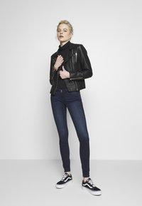 ONLY - ONLCORAL LIFE - Jeans Skinny Fit - dark blue denim - 1