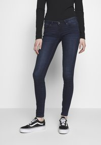 ONLY - ONLCORAL LIFE - Jeans Skinny Fit - dark blue denim - 0
