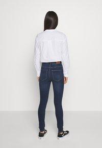ONLY - ONYGOSH HIGHWAIST  - Jeans Skinny Fit - dark blue denim - 2