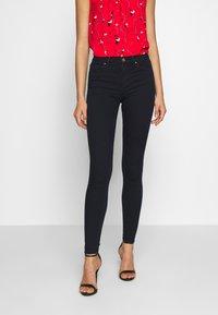 ONLY - ONLGLOBAL - Skinny džíny - dark blue denim - 0