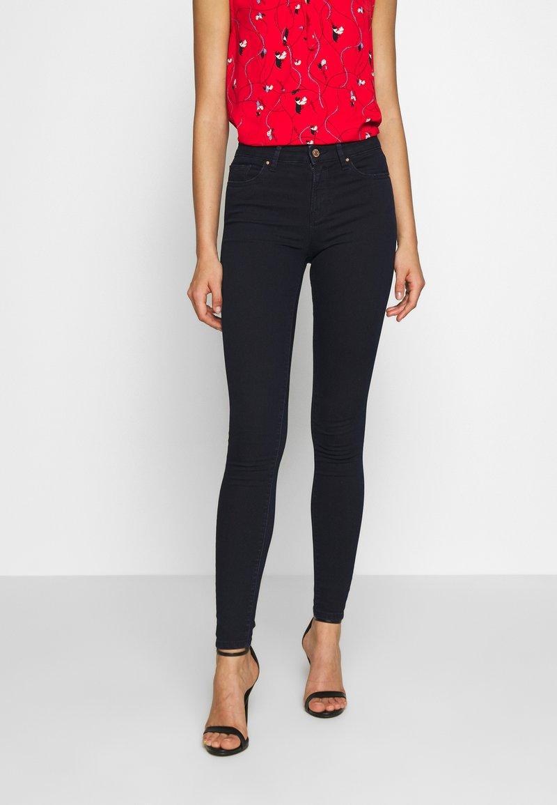 ONLY - ONLGLOBAL - Skinny džíny - dark blue denim