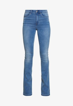 ONLROYAL SWEET - Flared jeans - medium blue denim