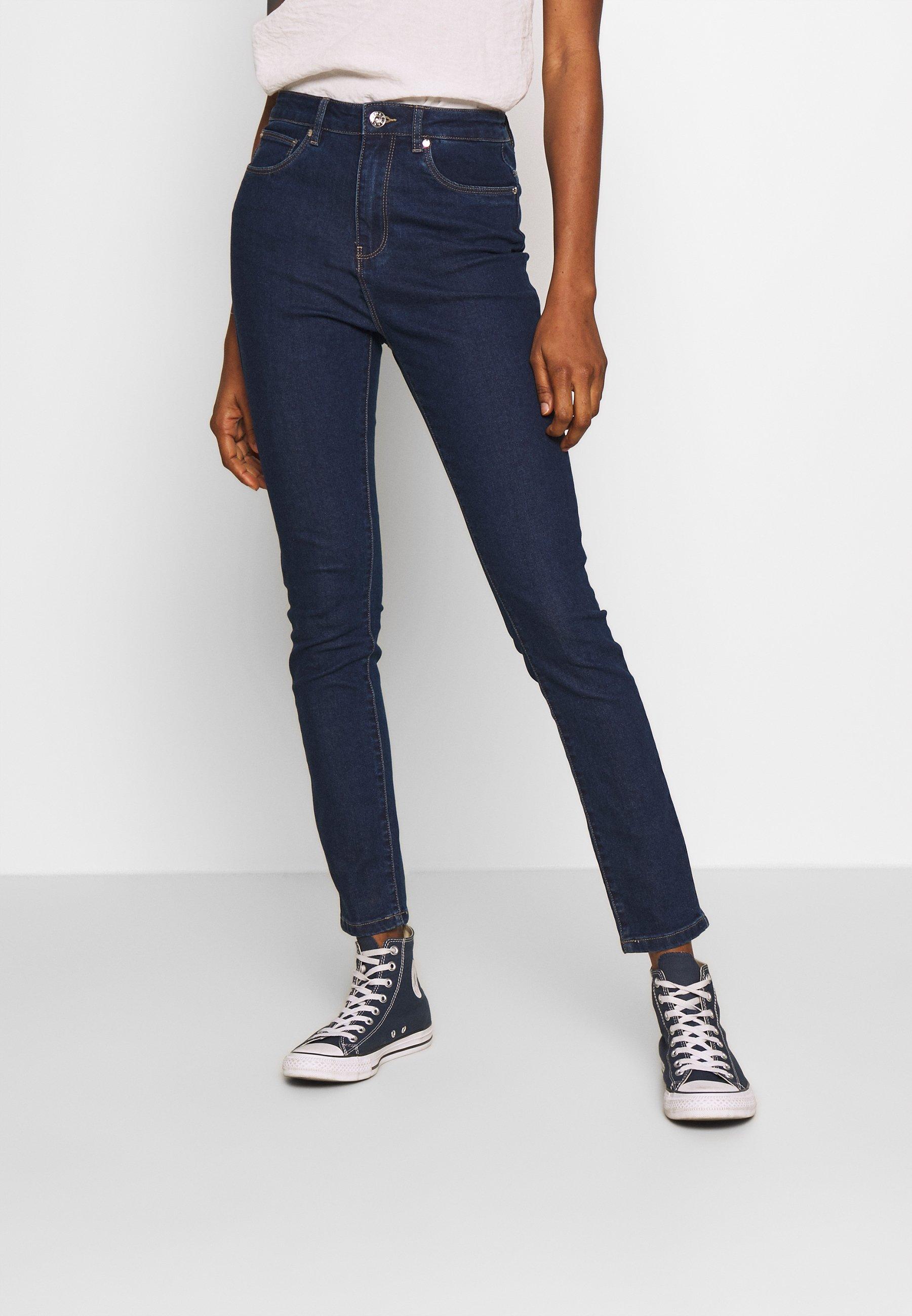 ONLY ONYPAOLI  - Jeans Skinny Fit - dark blue denim