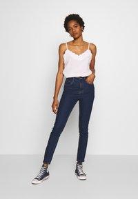 ONLY - ONYPAOLI  - Skinny džíny - dark blue denim - 1