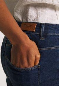 ONLY - ONYPAOLI  - Skinny džíny - dark blue denim - 5