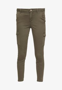 ONLY - ONLNEW COLE MIRINDA - Cargo trousers - grape leaf - 4