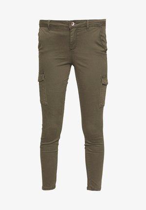 ONLNEW COLE MIRINDA - Cargo trousers - grape leaf