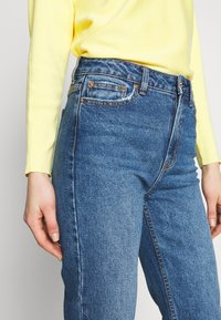ONLY - ONLEMILY RAW ANKLE - Jean slim - dark blue denim - 3