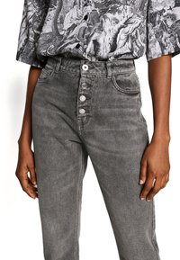 ONLY - ONLERIN - Straight leg jeans - medium grey denim - 3