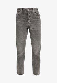 ONLY - ONLERIN - Straight leg jeans - medium grey denim - 4