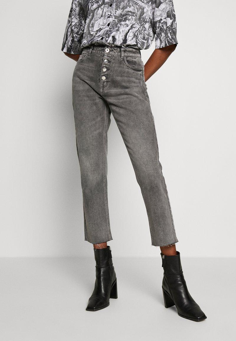 ONLY - ONLERIN - Straight leg jeans - medium grey denim
