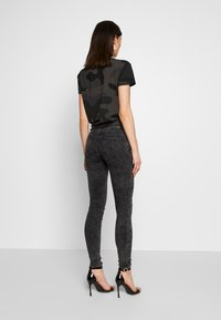 ONLY - ONLRAIN ACID - Jeans Skinny Fit - black denim - 2
