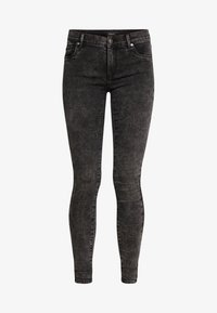 ONLY - ONLRAIN ACID - Jeans Skinny Fit - black denim - 5