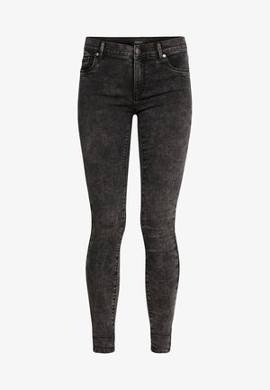 ONLRAIN ACID - Vaqueros pitillo - black denim